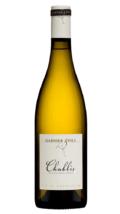 Fles witte wijn Chablis van Garnier & Fils