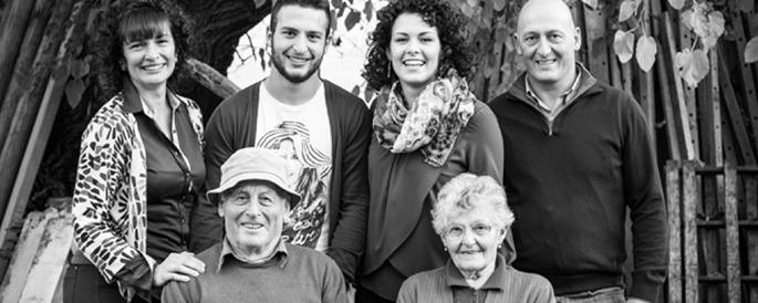 de wijnmakersfamilie Corino